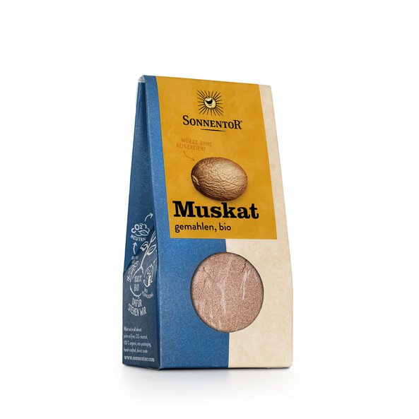 Muskatnuss Gemahlen Bio 30 G Packung Online Kaufen