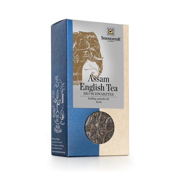 Assam English Tea bio, 95 g
