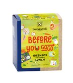 Before you go go! Ideenbox für deinen Lunch bio Packung