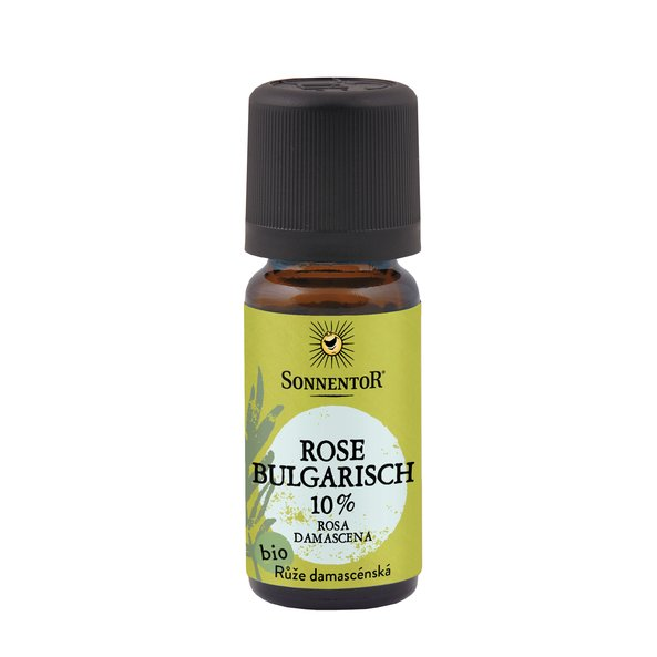 Rose damascena kbA äth. 10ml (in Jojobaöl)