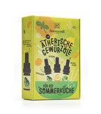 Spice Essential Oils (set) for the Summer Cuisine bio