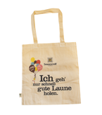 Textile bag with long handle bio